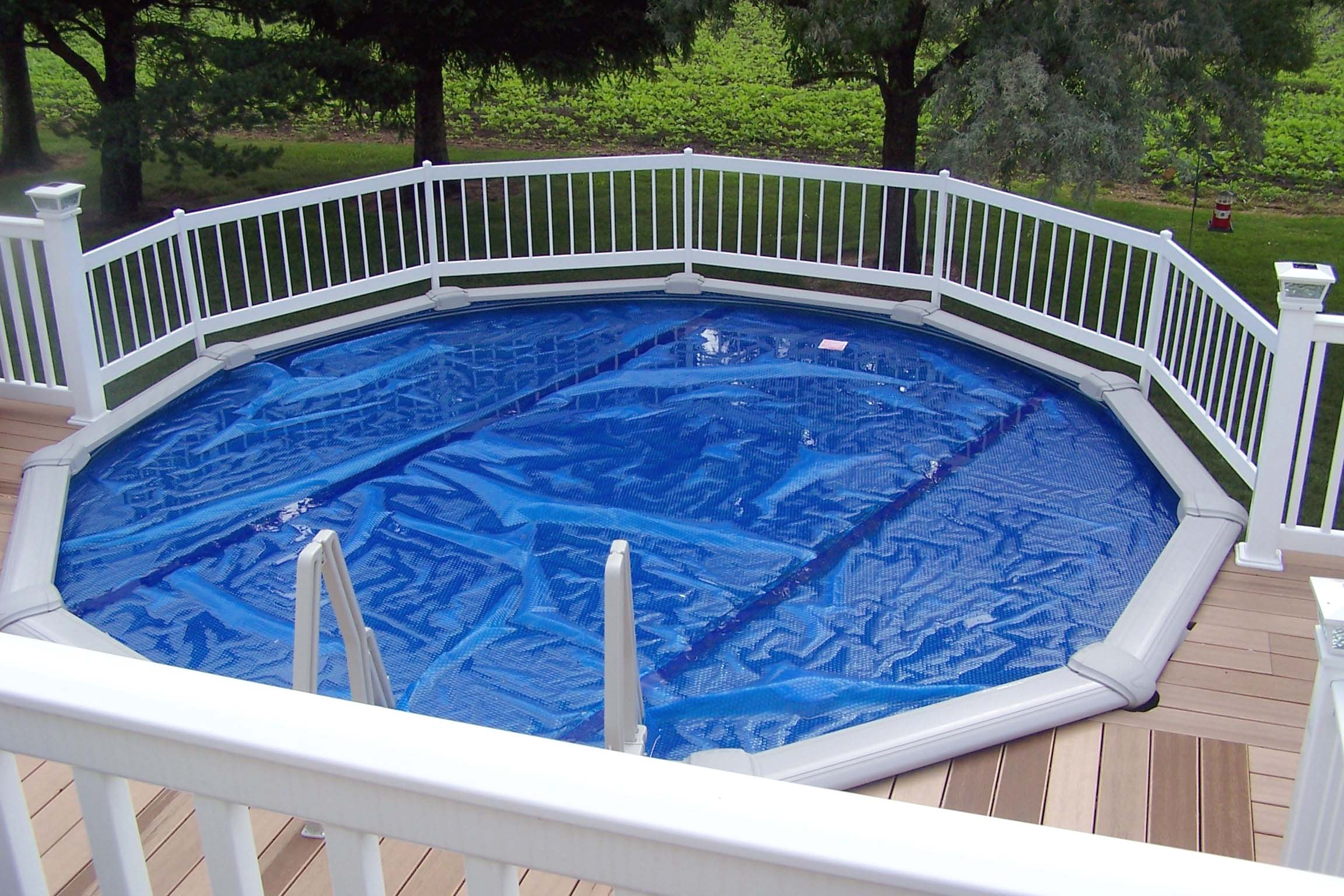 Economy Resin Pool Fence System Vinyl Works Canada