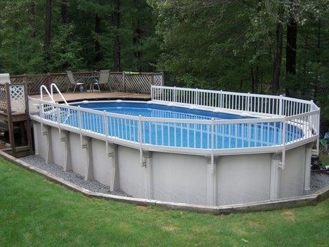 Premium Resin Pool Fence System Vinyl Works Canada