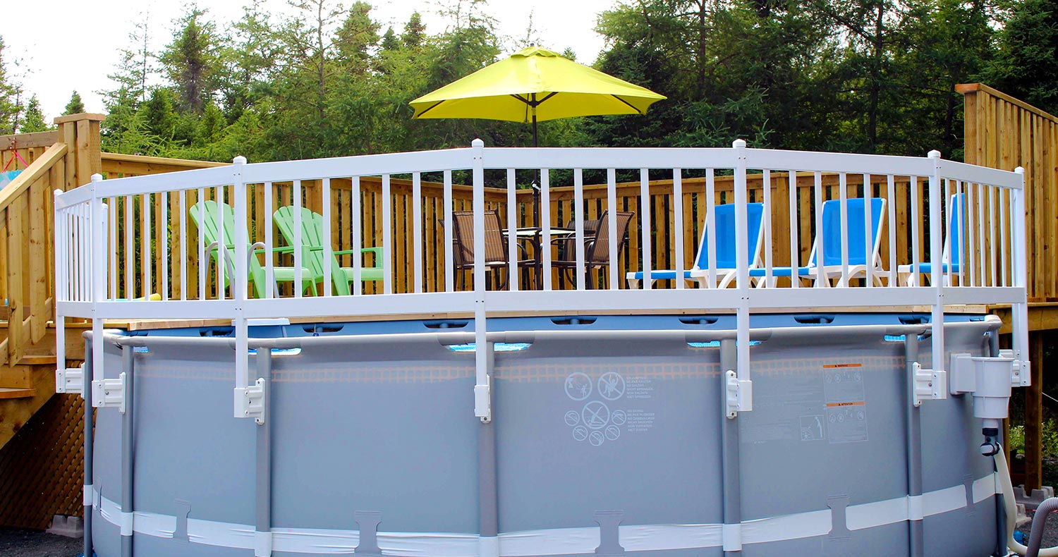 Vinyl Works Canada Above Ground Swimming Pool