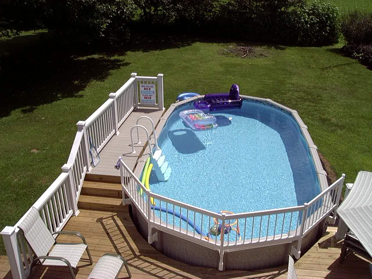 Economy Resin Pool Fence System