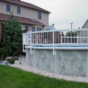 Parts - Economy Resin Pool Fence System